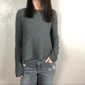 Joie Wool and Cashmere Gray Sweater